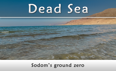 Dead Sea, Sodom's ground zero